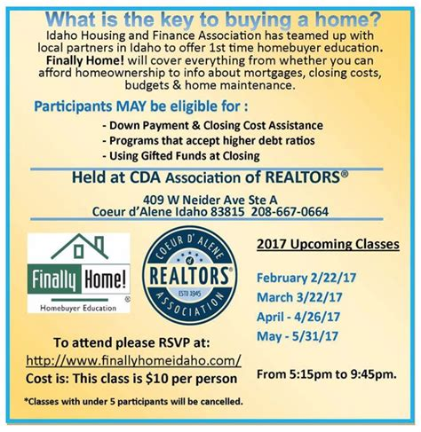 idaho housing and finance association first time home buyer here s what you need to know