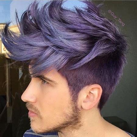 ash blue hair color and cut for men denimhair numinous گالری عکس و مدل مو های مردانه و پسرانه اروپایی جدید 2017