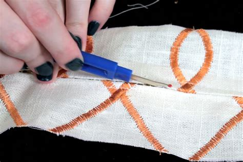 Upholstery Zippers How To Sew An Upholstery Zipper Ofs Maker S Mill