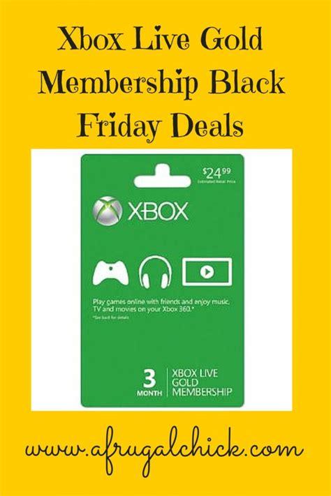 best price xbox live xbox live membership black friday sale