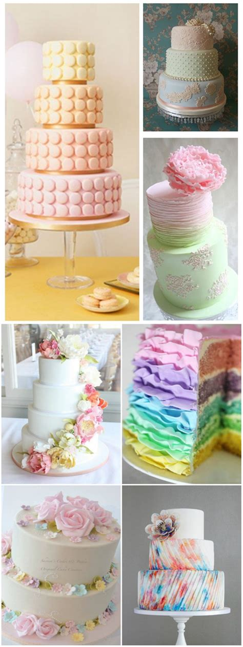 Wedding Cake Ideas 2016 18 pastel wedding cake ideas for 2016