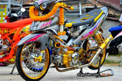 modifikasi motor racing 40 foto gambar modifikasi jupiter z kontes racing look