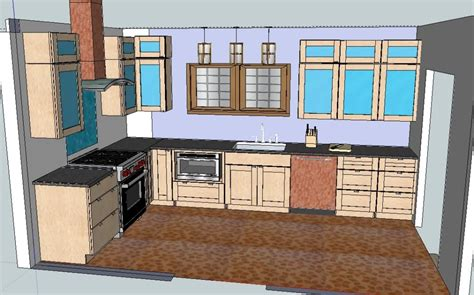 Sketchup Kitchen Design | sketchup kitchen design furniture design ideas
