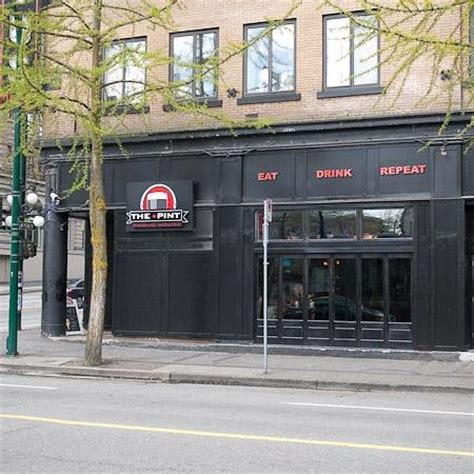 pint house try the pint for a pint review of the pint public house vancouver british