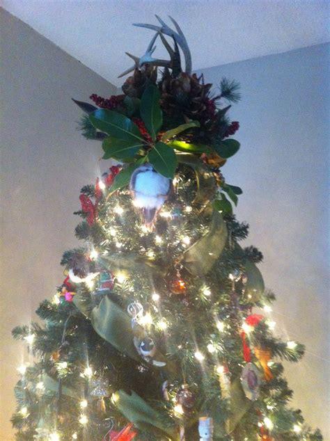 deer antler christmas tree topper christmas ideas