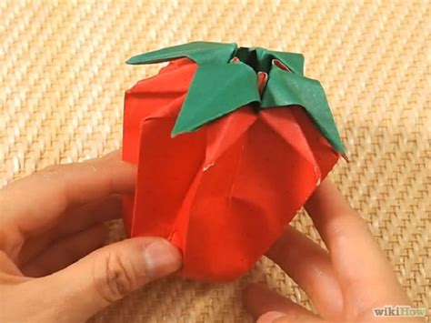 How To Make A Paper Strawberry - the 10 best tutorials on how to origami yeahmag