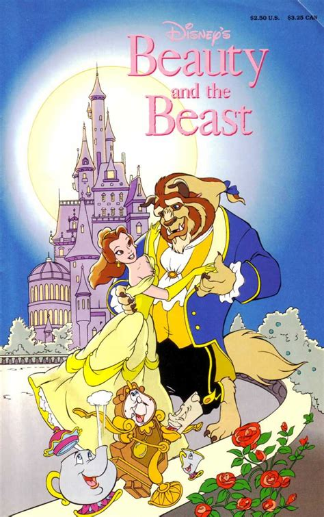 disneys beauty   beast   official  adaptation issue