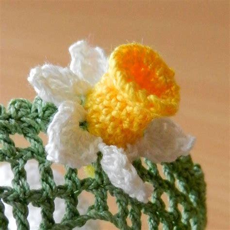 pattern crochet daffodil free pattern crochet daffodil squareone for