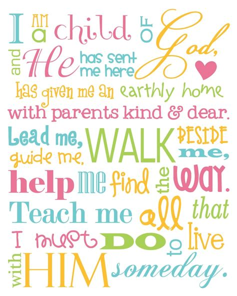 tiny talks i am a child of god books i am a child of god 8x10 print