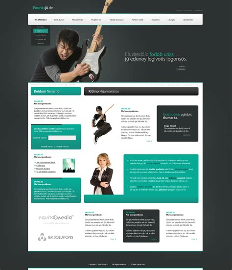 layout site fourias ju website layout by ikegfx on deviantart
