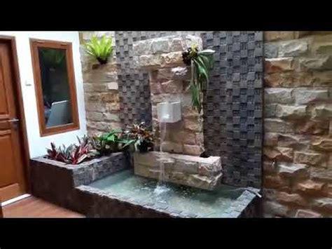 Lu Hias Tiang Teras Rumah kolam ikan minimalis simple dan cantik depan rumah terbaik 43