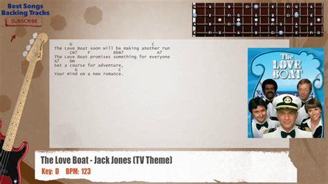 love boat theme music lyrics the love boat jack jones tv theme bass backing track