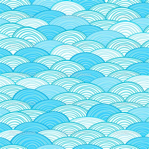 water pattern svg seamless water wave pattern stock vector 10576141