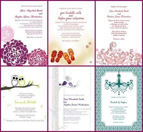 printable invitation kits wedding invitations from printable invitation kits