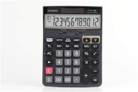 Casio Dj 120d Kalkulator Meja jual casio dj 120d jual casio desktop dj 120d di