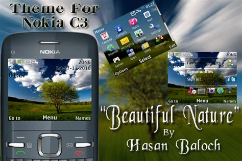 themes for mobile c3 mobile themes nokia c3