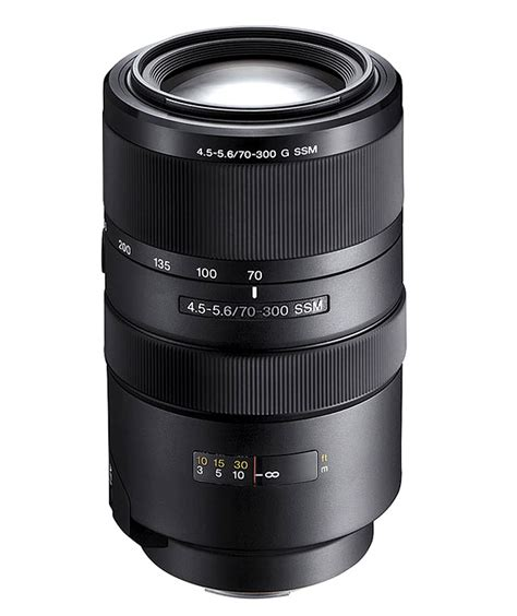 Sony Lens G sony 70 300mm f4 5 5 6 g ssm interchangeable lens review