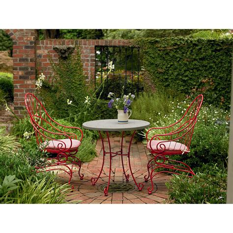 country living rock lake 3 piece patio bistro set