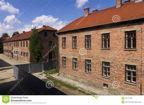 architects of annihilation auschwitz 1842126709 an old brick building in auschwitz i c editorial stock photo image 33177728