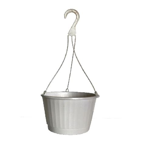 Home Depot Hanging Ls by 10 In Plastic Hanging Basket Pothb10 The Home Depot