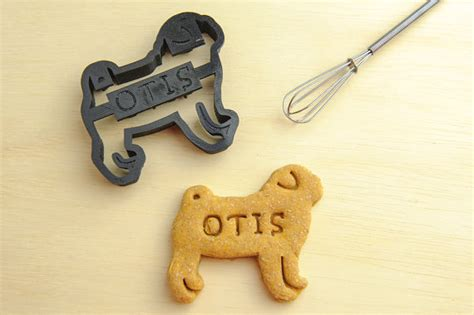 pug cookie cutter pug cookie cutter custom treat personalized pet by namethatcookie