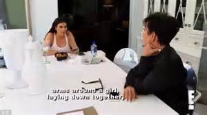 kris jenner kim kardashian find out about scott disicks kim kardashian and kris jenner learn scott is cheating on