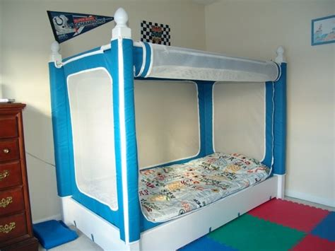 beds for special needs child yay larrin finally has his own the noah s bed is for