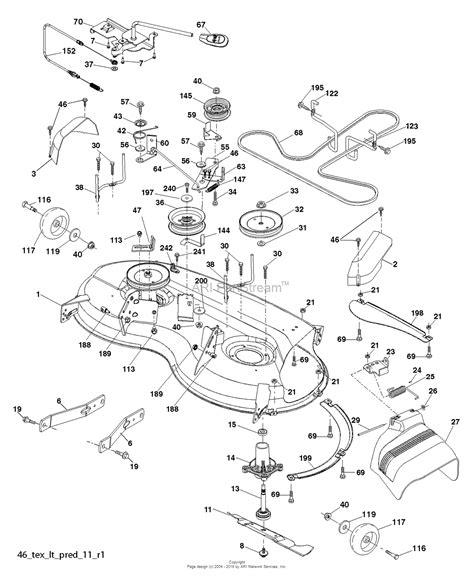 husqvarna belt diagram husqvarna yth21k46 96043012003 2012 10 parts diagram