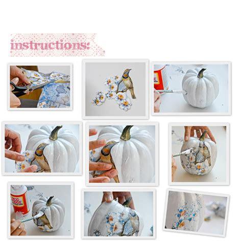 decoupage decorating ideas funky decoupage pumpkins xenia