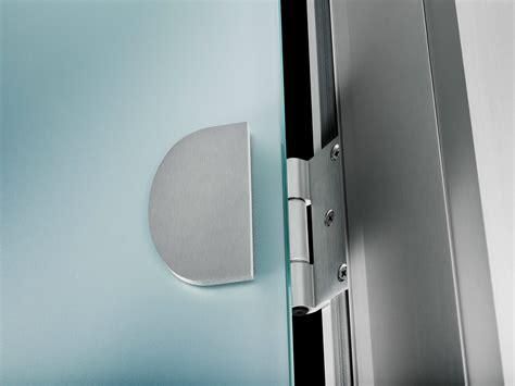 porte poussante en verre sans cadre easydoor porte sans