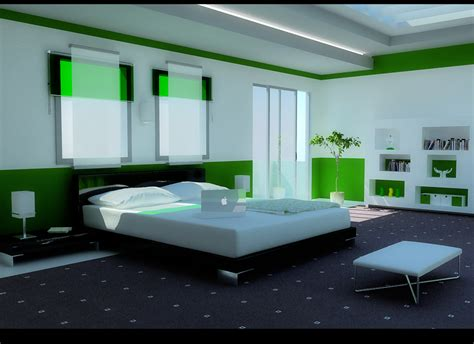 the modern bedroom 16 green color bedrooms