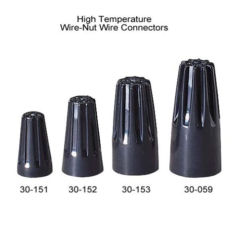 heat resistant wire nuts ideal high temperature wire nut 174 wire connectors wire nuts