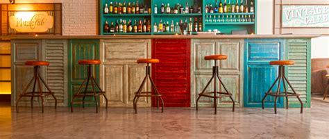 barras de bar de estilo vintage decorar net