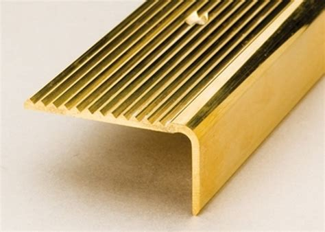 Wrapping Makanan 500 M Uk 45 45x23mm solid polished brass stair nosings 2 5m