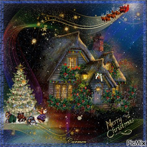 festive merry christmas gif pictures   images  facebook tumblr pinterest