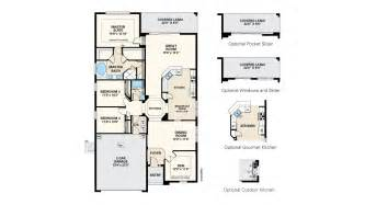 Morrison Homes Floor Plans Pinehurst Iii Floor Plan At Cypress Chase In Tampa Fl