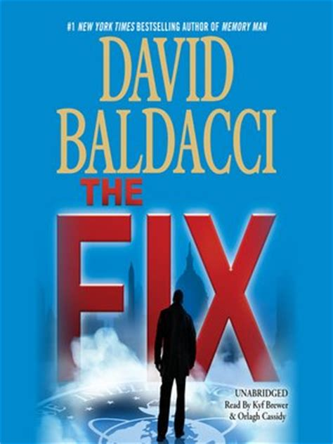 mend books the fix by david baldacci 183 overdrive ebooks audiobooks