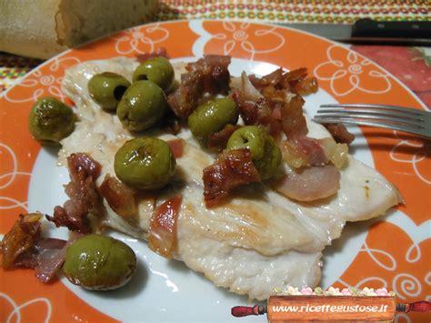 ricette per cucinare il tacchino tacchino ricetta scaloppine tacchino olive prosciutto crudo