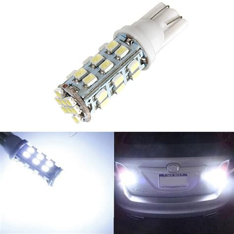 921 Led Light Bulb T10 194 912 921 White 32 Smd Led Bulbs For Backup