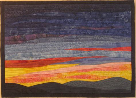 small landscape quilts quilts by