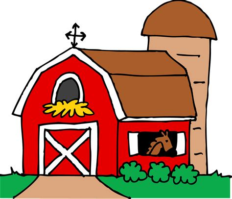 red barn little red barn clipart free clip art