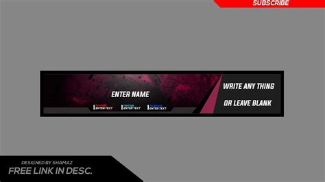 download youtube banner template youtube banner template 2017 theparentsunion org
