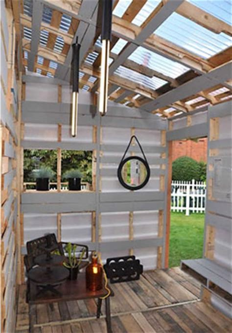 pallet house by i beam design diy pallet house instructions i beam design pallet