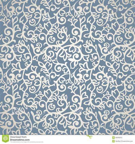 blue pattern vintage background vintage seamless pattern stock vector illustration of