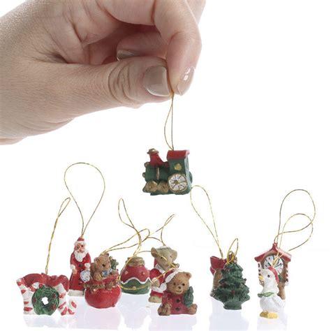 miniature christmas ornaments christmas ornaments
