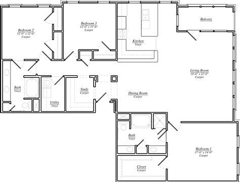 modern kitchen floor plans l shaped kitchen floor plan incredible house rukle g plans