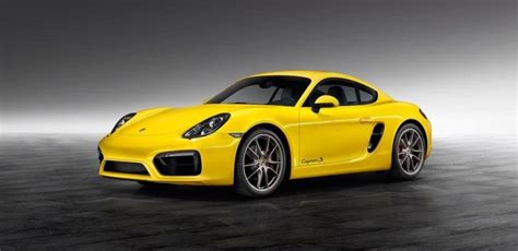 Porsche Cayman Weight Distribution by Porsche Exclusive Gives The Cayman S A Yellowish Makeover