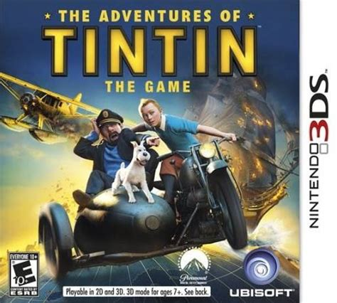 The Adventures Of Tintin The Shooting the adventures of tintin the box for 3ds gamefaqs