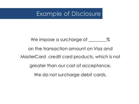 credit card surcharge letter template accepting credit cards for tuition without incurring fees