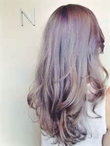 lavender color hair conrad inspired smokey lavender hair extensions
